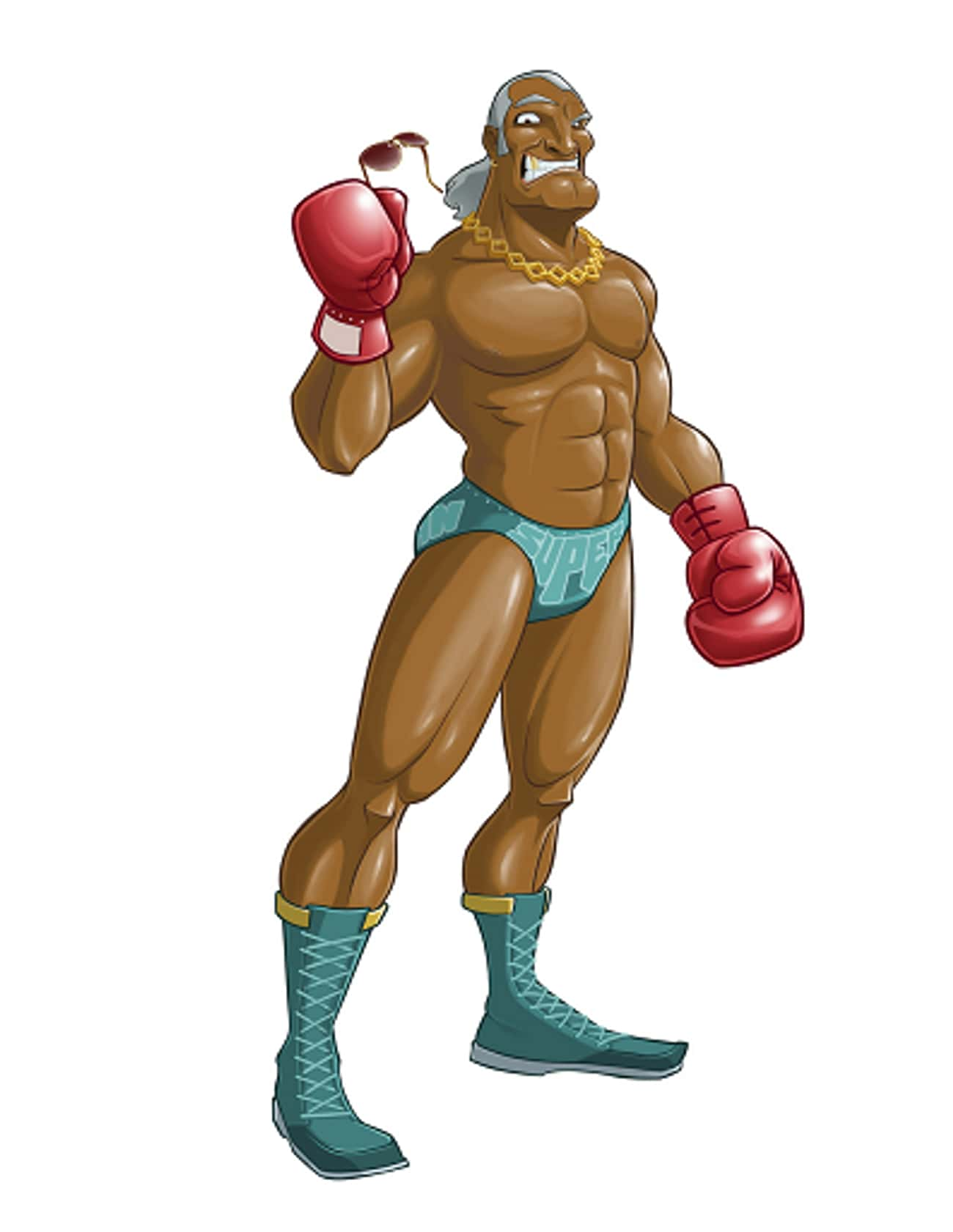Super Macho Man is listed (or ranked) 3 on the list All Punch Out Characters: List of Punch Out Game Characters