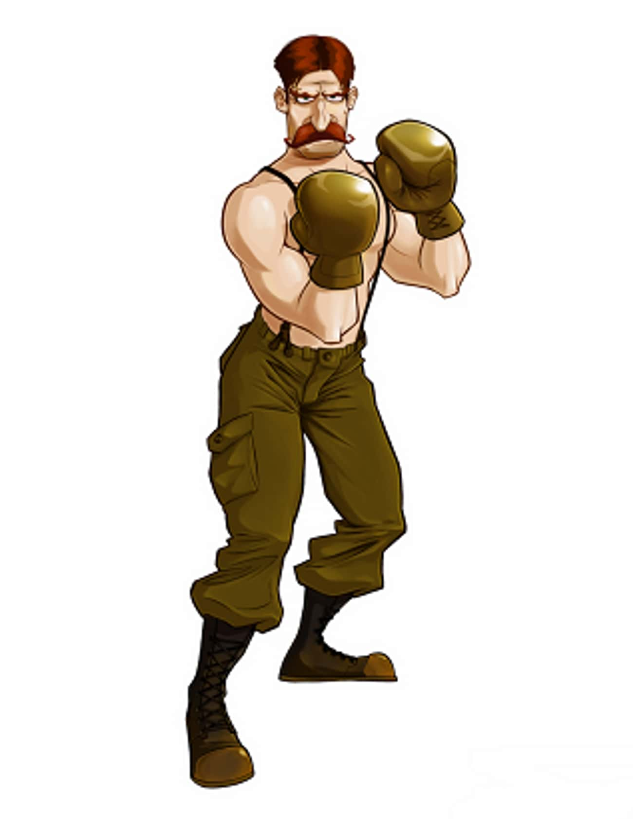 Von Kaiser is listed (or ranked) 1 on the list All Punch Out Characters: List of Punch Out Game Characters
