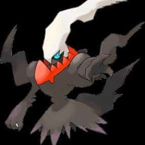 Darkrai is listed (or ranked) 2 on the list The Best Dark Pokemon of All Time