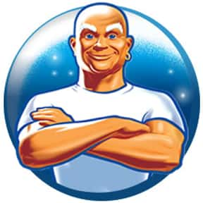 Mr. Clean is listed (or ranked) 7 on the list The Most Memorable Advertising Mascots of All Time