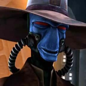 Cad Bane is listed (or ranked) 15 on the list The Most Hated Star Wars Villains