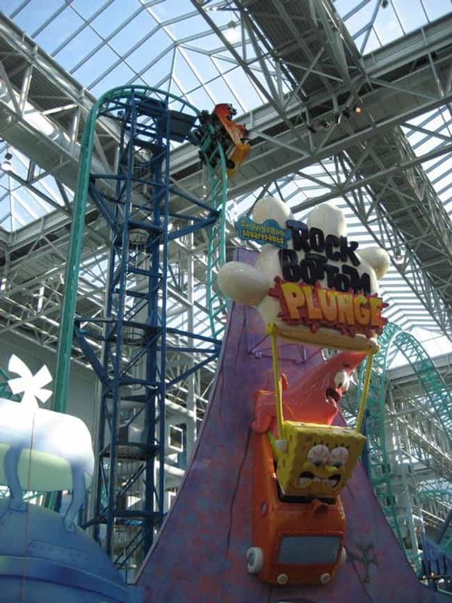 SpongeBob SquarePants Ro... is listed (or ranked) 1 on the list The Best Rides at Nickelodeon Universe