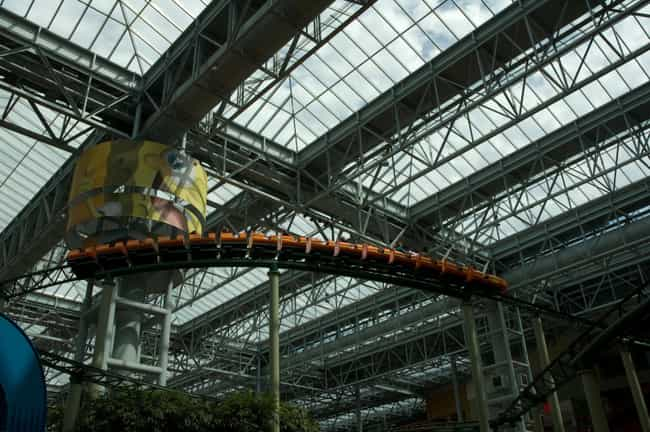 Pepsi Ripsaw Roller Coas... is listed (or ranked) 4 on the list The Best Rides at Nickelodeon Universe