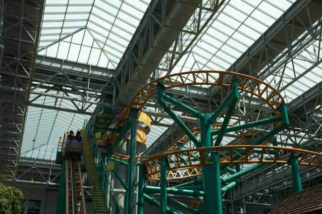 Fairly Odd Coaster is listed (or ranked) 3 on the list The Best Rides at Nickelodeon Universe