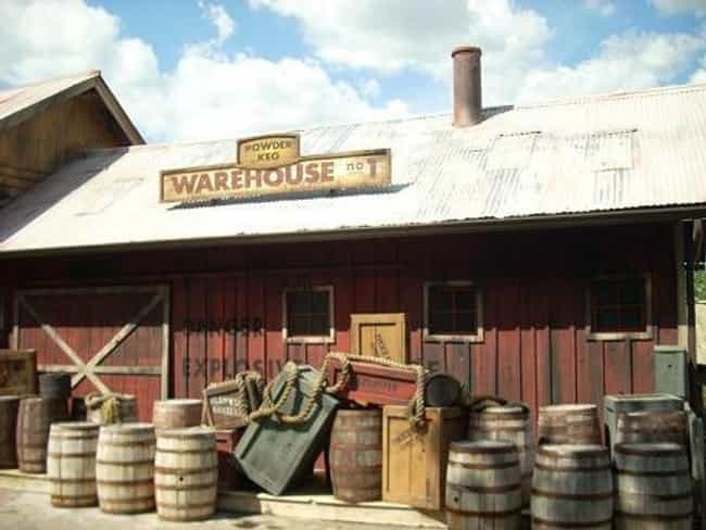 Powder Keg: A Blast into the W... is listed (or ranked) 1 on the list The Best Rides at Silver Dollar City