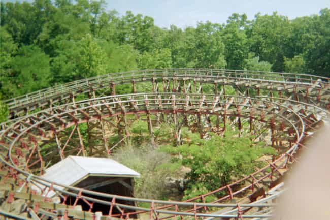 Thunderation is listed (or ranked) 3 on the list The Best Rides at Silver Dollar City