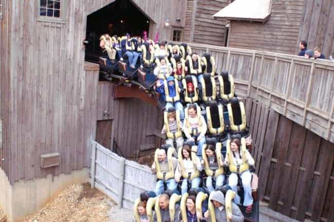 Wildfire is listed (or ranked) 2 on the list The Best Rides at Silver Dollar City