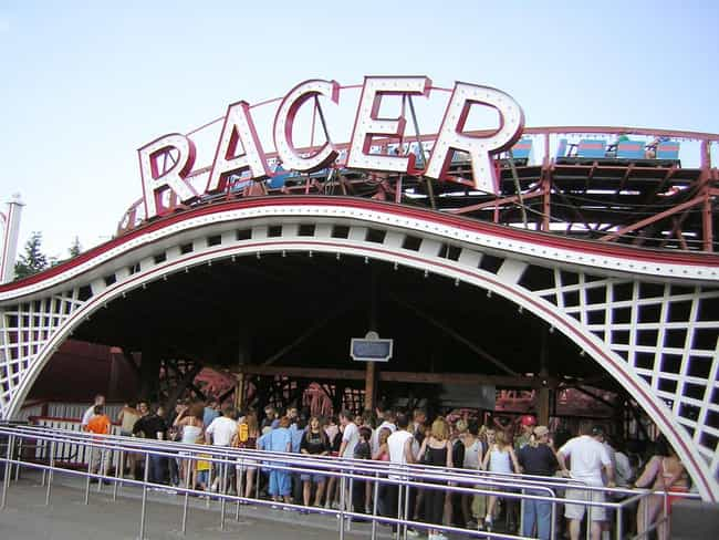 Racer is listed (or ranked) 3 on the list The Best Rides at Kennywood