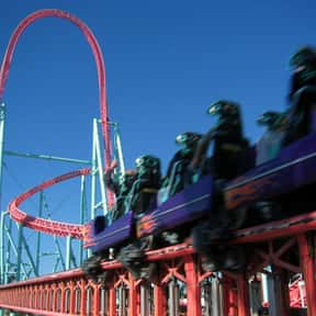 Xcelerator is listed (or ranked) 4 on the list The Best Rides at Knott's Berry Farm