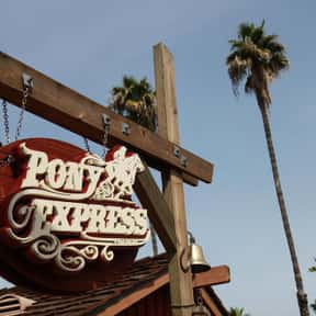 Pony Express is listed (or ranked) 6 on the list The Best Rides at Knott's Berry Farm