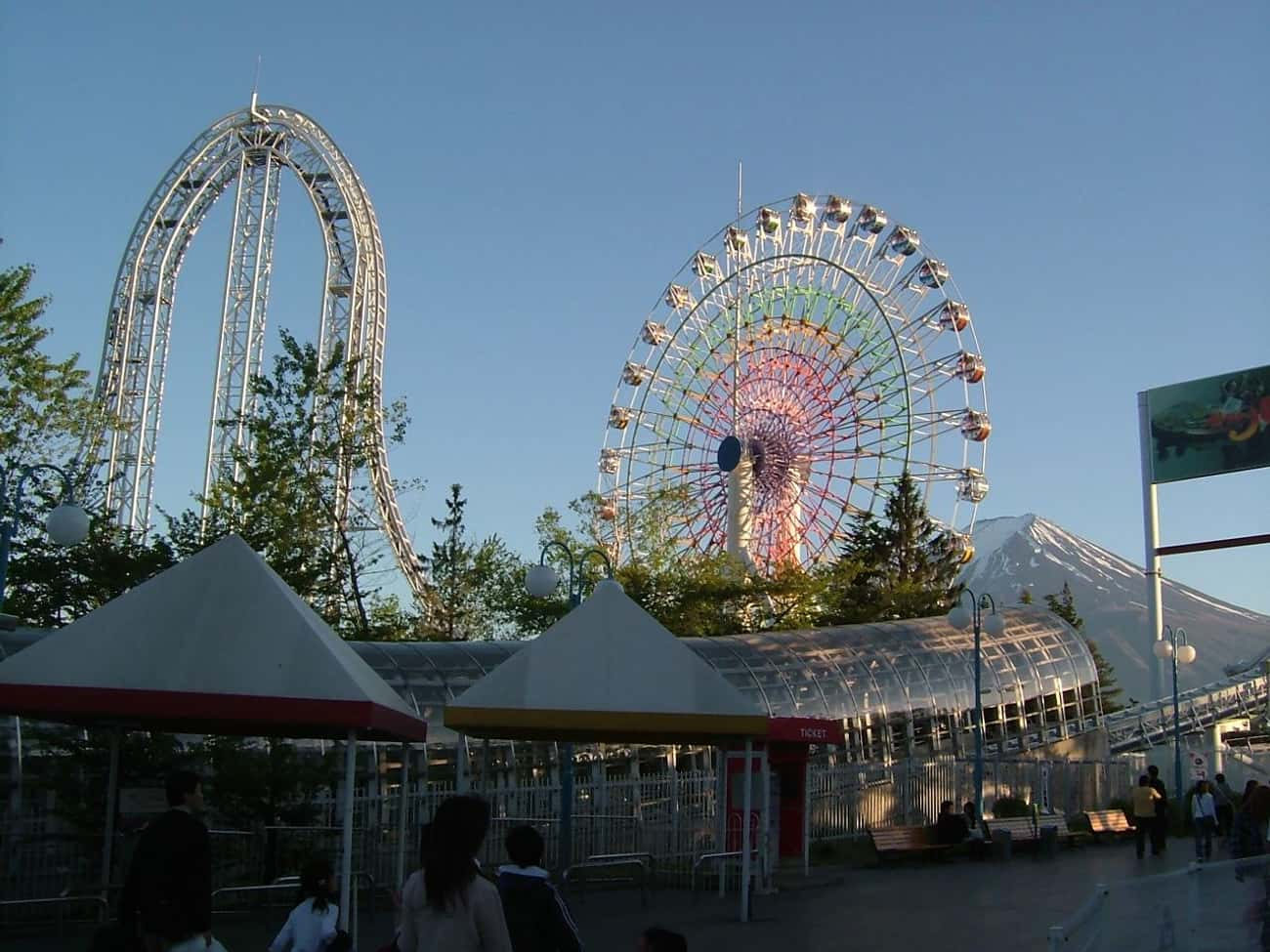 Dodonpa is listed (or ranked) 3 on the list The Best Rides at Fuji-Q Highland