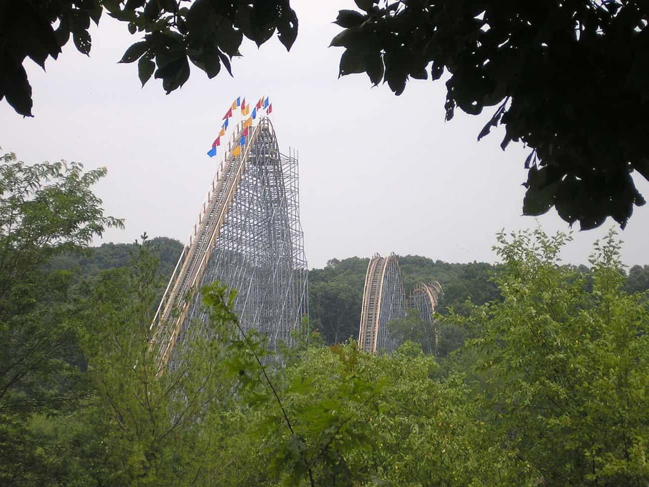 The Voyage is listed (or ranked) 4 on the list The Best Rides at Holiday World