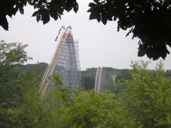 The Voyage is listed (or ranked) 2 on the list The Best Rides at Holiday World