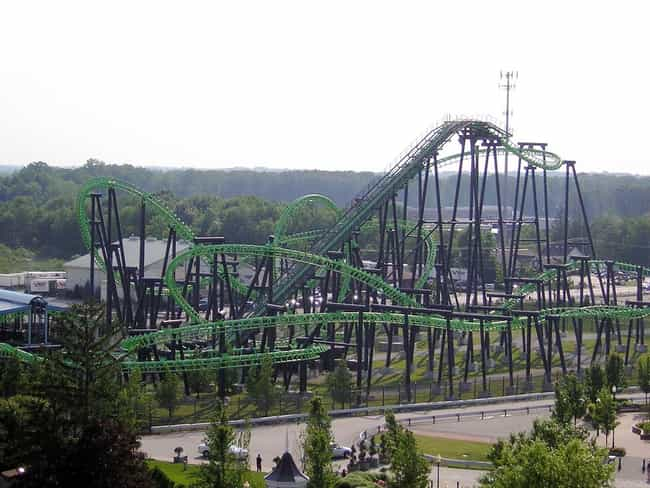 X-Flight is listed (or ranked) 1 on the list The Best Rides at Geauga Lake
