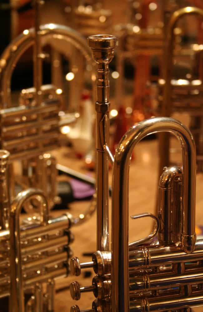 Brass instrument is listed (or ranked) 1 on the list Wind instrument - Instruments in This Family