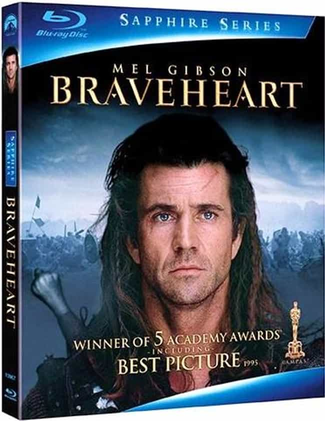 Braveheart is listed (or ranked) 3 on the list The Most Offensive Best Picture Oscar Wins