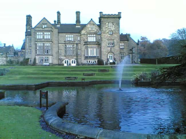 Breadsall Priory is listed (or ranked) 1 on the list Famous Elizabethan architecture buildings