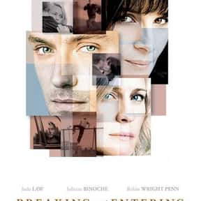 Breaking and Entering is listed (or ranked) 15 on the list The Best Vera Farmiga Movies