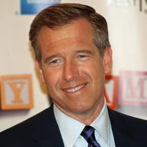Brian Williams is listed (or ranked) 9 on the list List of Famous News Presenters