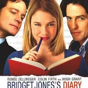 Bridget Jones's Diary is listed (or ranked) 1 on the list The Greatest Guilty Pleasure Romantic Comedies