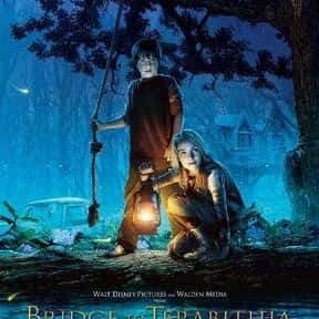 Bridge to Terabithia is listed (or ranked) 2 on the list Movies Based On Books You Should Have Read In 4th Grade