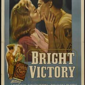 Bright Victory is listed (or ranked) 9 on the list The Best Richard Egan Movies
