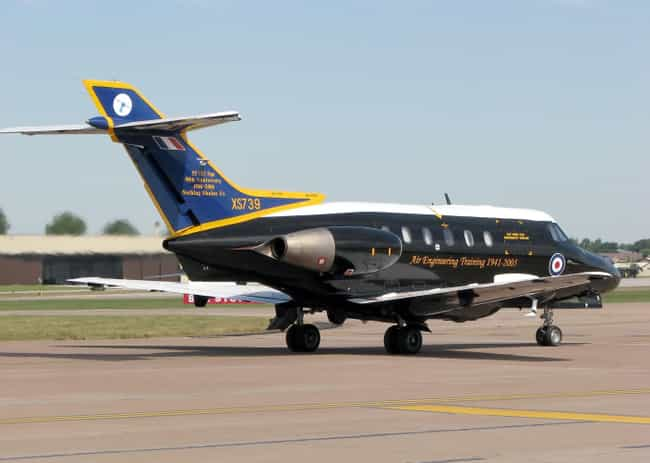 British Aerospace 125 is listed (or ranked) 3 on the list Hawker-Siddeley Airplanes and Aircrafts