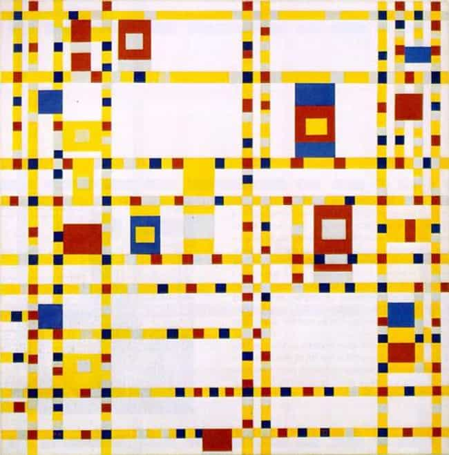 Broadway Boogie-Woogie ... is listed (or ranked) 1 on the list Famous Piet Mondrian Paintings