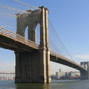 Brooklyn Bridge is listed (or ranked) 5 on the list The Top Must-See Attractions in New York