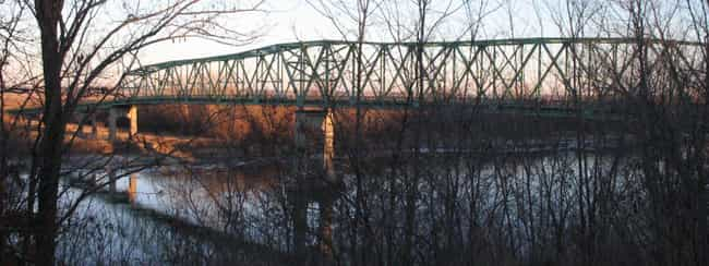 Brownville Bridge is listed (or ranked) 4 on the list Bridges in Missouri