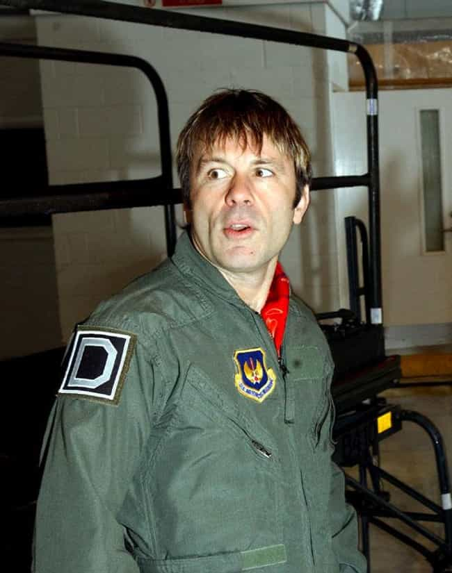 Bruce Dickinson is listed (or ranked) 2 on the list Famous Aviators from England