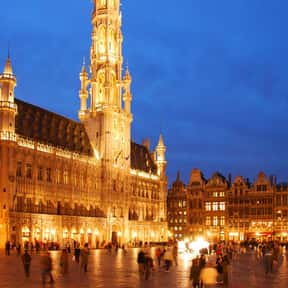 Brussels - 50°51'N is listed (or ranked) 6 on the list All Global Cities, Listed North to South