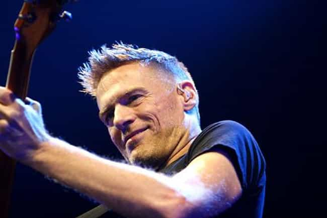 Bryan Adams is listed (or ranked) 2 on the list Men Who Elle Macpherson Has Dated
