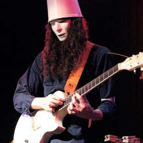 Buckethead is listed (or ranked) 3 on the list The Best Instrumental Rock Bands/Artists