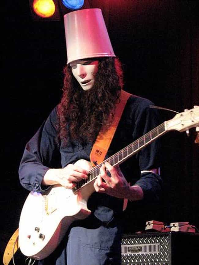 Buckethead is listed (or ranked) 4 on the list Famous Guitarists from Orange County