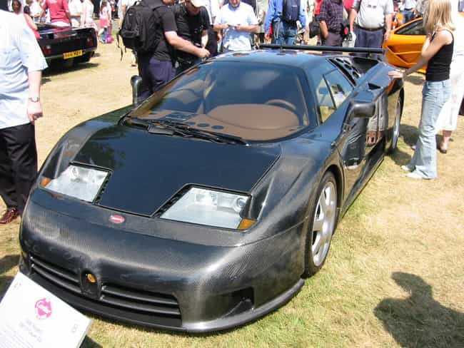 Bugatti EB110 is listed (or ranked) 3 on the list Full List of Bugatti Models
