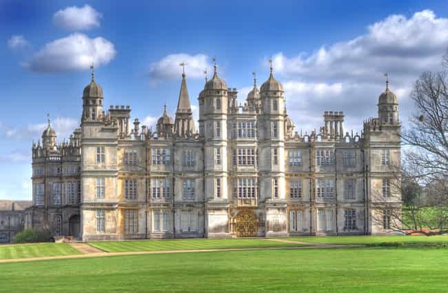 Burghley House is listed (or ranked) 2 on the list Famous Elizabethan architecture buildings