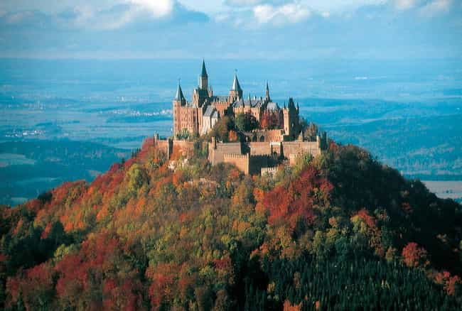Hohenzollern Castle Is Listed Or Ranked 1 On The List Most Beautiful Castles