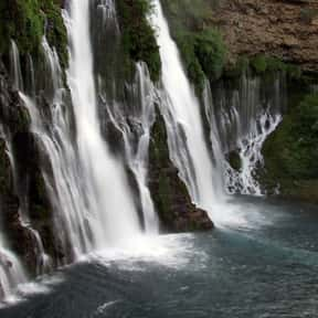 Burney Falls is listed (or ranked) 12 on the list List of Waterfalls in the US