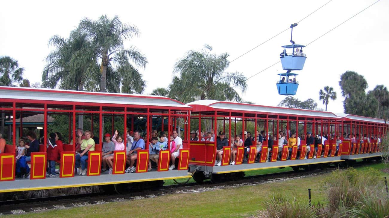 Busch Gardens Tampa Bay is listed (or ranked) 4 on the list The Best Amusement Parks In America