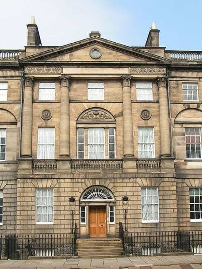 Bute House is listed (or ranked) 2 on the list List of Famous Edinburgh Buildings & Structures