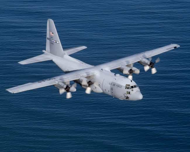 Lockheed C-130 Hercules is listed (or ranked) 3 on the list Planes Used By Pakistan Air Force