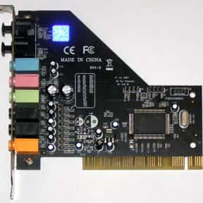 C-Media is listed (or ranked) 21 on the list The Best Sound Card Manufacturers