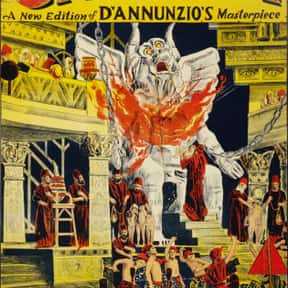 Cabiria is listed (or ranked) 17 on the list Roger's Top 250+ Classic Epic Movies