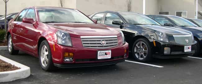 Cadillac CTS is listed (or ranked) 2 on the list Full List of Cadillac Models