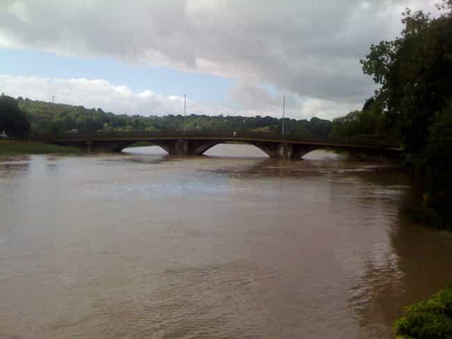 Caerleon Bridge is listed (or ranked) 4 on the list Bridges in Wales