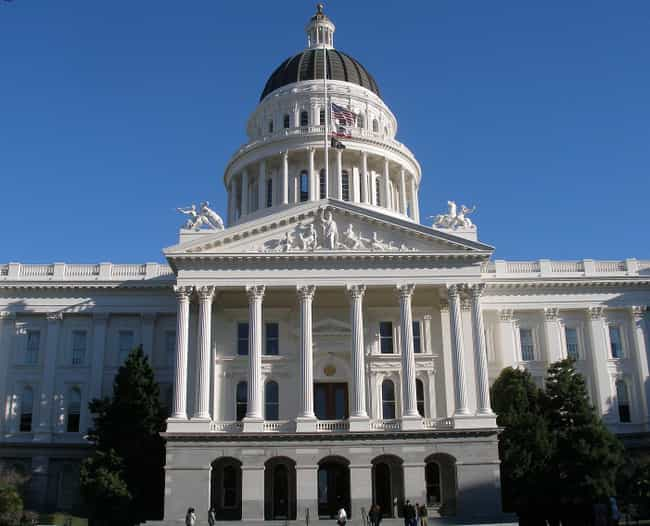 California State Capitol... is listed (or ranked) 4 on the list List of Famous Sacramento Buildings & Structures