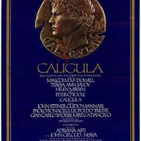 Caligula is listed (or ranked) 7 on the list Roger's Top 250+ Classic Epic Movies