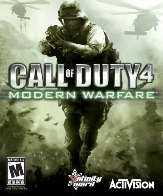 Call of Duty 4: Modern W... is listed (or ranked) 4 on the list Every 'Call of Duty' Game, Ranked Best to Worst