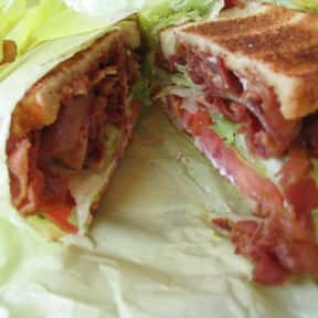 BLT is listed (or ranked) 25 on the list The Most Delicious Bar & Pub Foods, Ranked
